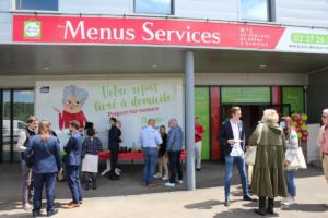 Agence Les Menus Services Chartres inauguration